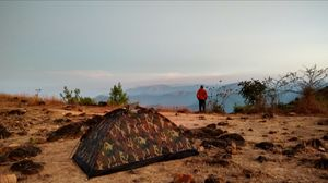 Camping 8,000 ft above sea level