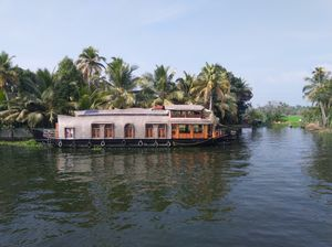 House boat in Alappuzha