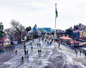 Journey to shimla: open toy train,kufri snowfall and more