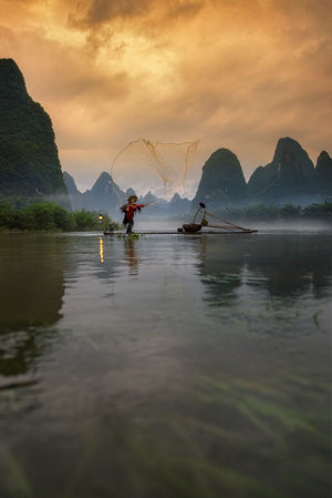 Did you ever see a fisherman with a bad throw?  #BestTravelPictures