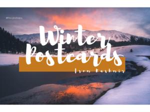 Winter Postcards from Kashmir! #bestof2018