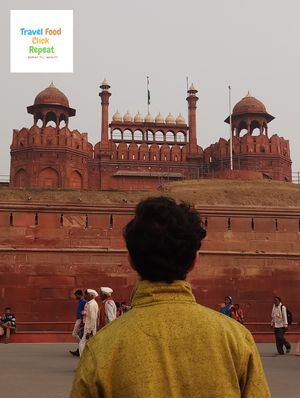 A Visit to Red Fort - Travel Food Click Repeat