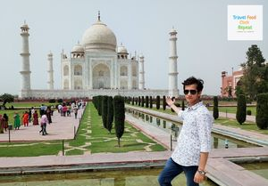 A Day Trip in Agra | Taj Mahal and Agra Fort- Travel Food Click Repeat