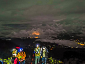 Mount Kinabalu Trail View