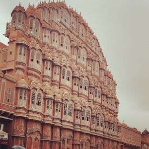 Jaipur and its old buildings