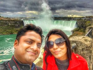 The Mesmerising View of The Great Niagra Falls #SelfieWithAView #TripotoCommunity