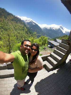 On looking Tosh from Gopro Lens #SelfieWithAView #TripotoCommunity