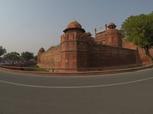 Red Fort and Janpath Market