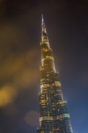 Tallest building in the world.