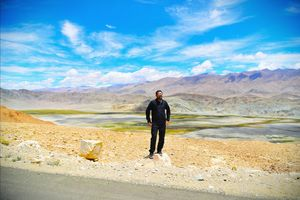Hanle in the Changthang region of Ladakh.