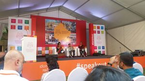 Attending Bangalore Literature Festival...