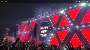 New year eve December 31st 2018