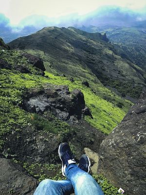 Highest peak of Maharashtra - Kalsubai's peak