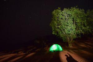 Camping at Bamnoli and Jungle trek to Vasota Fort