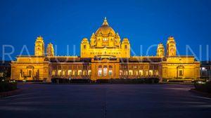 TAJ - UMAID BHAVAN PALACE: a royal experience!