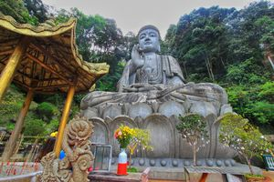 15 Meter Buddha Statue at Genting Highlands, Malaysia #malaysia  #dewanderersoul #tripotocommunity