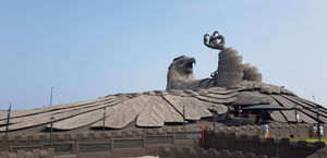 World's Largest Bird Sculpture @ Jatayu Earth's Centre