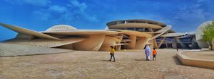 National Museum of Qatar : Desert Rose Themed Architecture