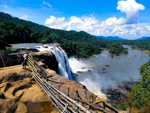 Mesmerising Athirappilly Waterfalls