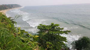Little Goa of Kerala , Varkala Cliff