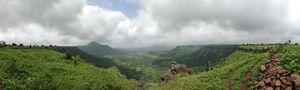 Valleys from Mandu