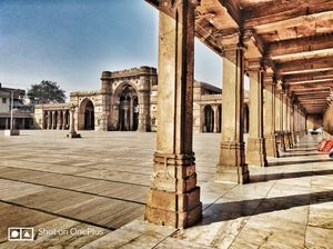 India's 3rd largest Mosque,   JAMI MOSQUE AHMEDABAD