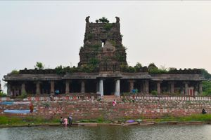Sri Sanjeevirayan Temple, Ayyangarkulam, Kanchipuram,  Tamilnadu, South India