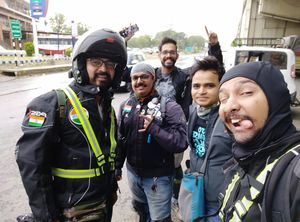 First day of Groups Leh ladakh ride