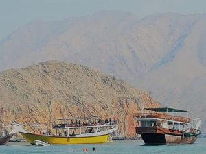 My mesmerising full day Musandam Dibba sea adventure in Oman, known as the norway of middle east.