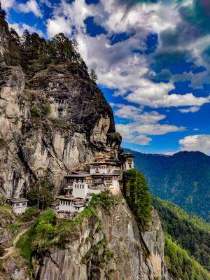 Tiger's Nest :)   Also Known as Taktsang Palphug Monastery or Paro Taktsang