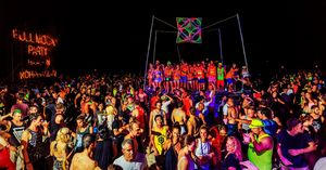 4 Days in Koh Phangan and Full Moon Party