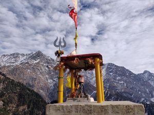 Divine Dharamshala - the abode of god. H.H Dalai Lama #mcleodganj #TriundTrek #dharamshalastadium