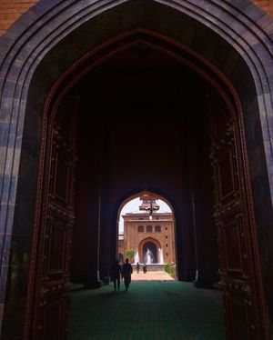 Heritage Mosque in Downtown Srinagar Kashmir.