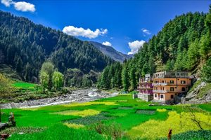 Beauty of barot valley. Barot valley is situated in mandi district of himachal pradesh.