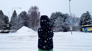 Rovaniemi with my 4 Years old: A glimpse