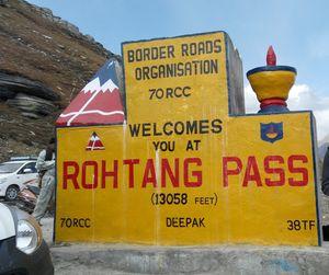 Rohtang pass ,manali (Himachal Pradesh)