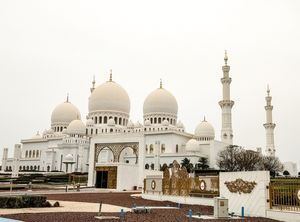 The Grand Mosque is like an oasis of serenity amidst the hustle-bustle of the city!