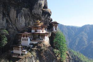 Taktsang Monastery/ Tiger's Nest Monastery, Bhutan