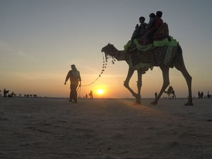 Great Rann of Kutch, Mandvi Beach and Bhuj
