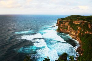 One of the most beautiful places I have ever been to. This view from Uluwatu Temple is mesmerizing.