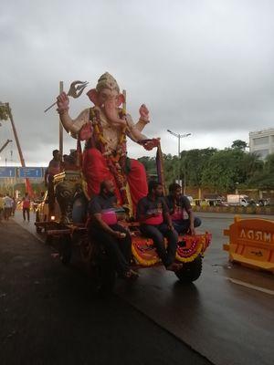 Ganesh ji ka visarjan 2019