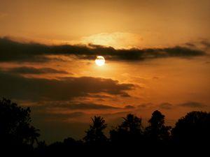 Rising Sun in Kerala, God's own country.