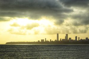 Marine Drive in the evening