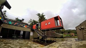 Container homes in Panchgani-The new thing of beauty for your instagram posts!