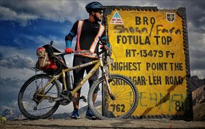 Forget Royal enfield  And Try Cycling to Leh this year.Meet The Real You,untill you are there ..