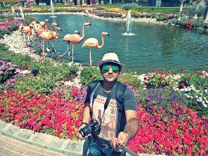 Dubai Miracle Garden  #SelfieWithAView #TripotoCommunity