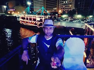 Dubai's famous Dhow Cruise and Dinner- #SelfieWithAView #TripotoCommunity