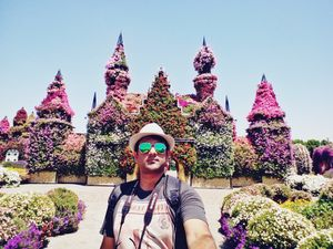 The Beautifiul Miracle Garden #SelfieWithAView #TripotoCommunity