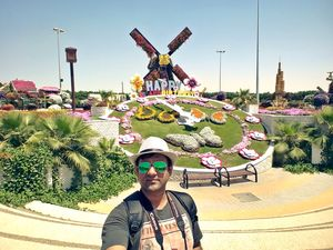 Happy Birthday @ Miracle Garden #SelfieWithAView #TripotoCommunity