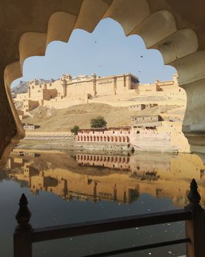 Riding Solo in Jaipur: My Day at Amer Fort and Nahargarh Fort